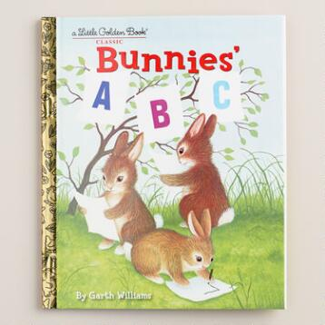 Bunnies' ABC, a Little Golden Book