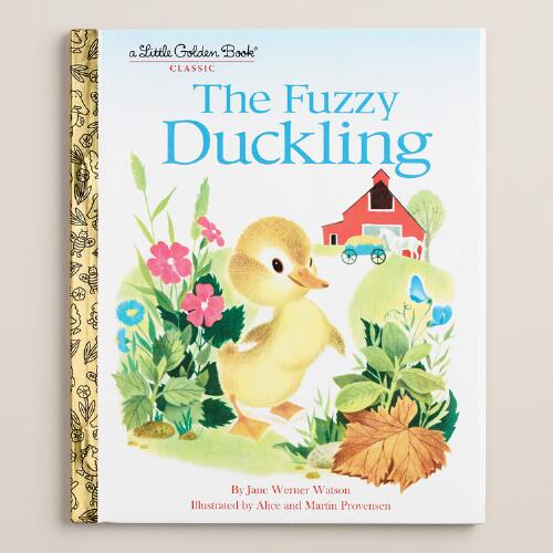 The Fuzzy Duckling, a Little Golden Book