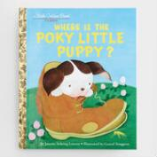 Where Is the Poky Little Puppy?, a Little Golden Book