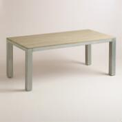 Wood and Metal Pelagia Dining Table