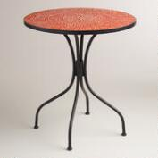 Poinciana Orange Cadiz Bistro Table