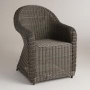 All-Weather Wicker Open Weave Capistrano Chair