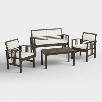 Belize 4-Piece Outdoor Occasional Furniture Set