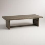 Wood San Paolo Outdoor Coffee Table