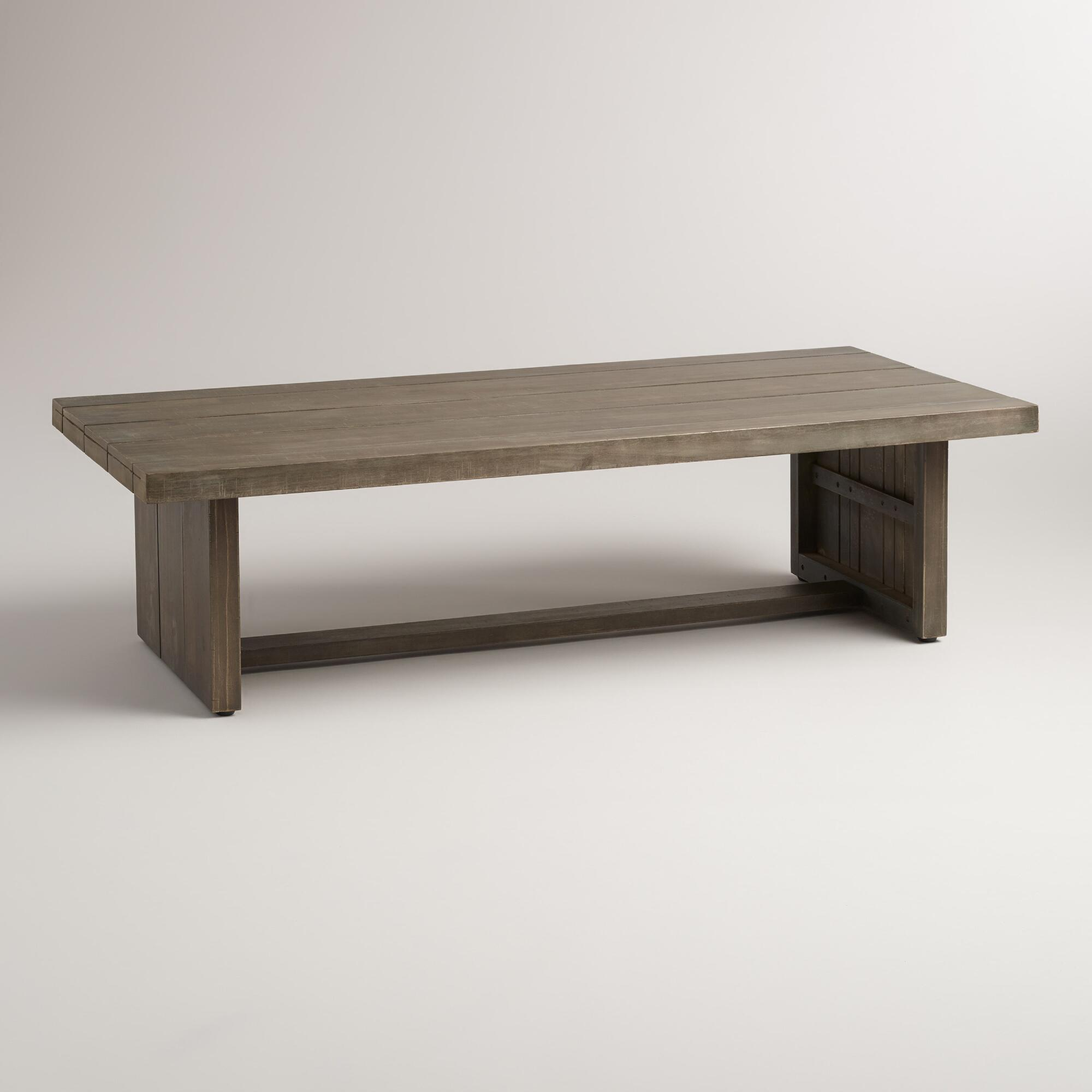 Coffee Table World Market Round Coffee Table Silas Outdoor: Wood San Paolo Coffee Table