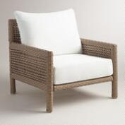All-Weather Wicker Vailea Outdoor Occasional Armchair