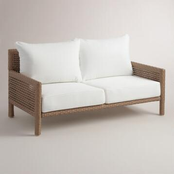 All-Weather Wicker Vailea Outdoor Occasional Bench