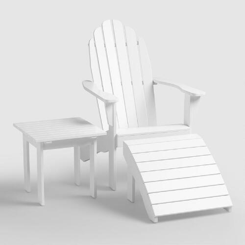 Antique White Adirondack Collection