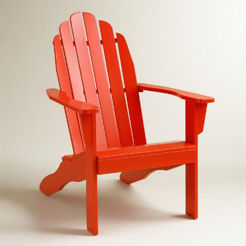 Poinciana Adirondack Chair