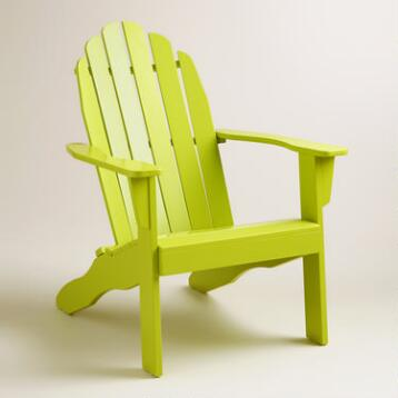 Apple Green Adirondack Chair
