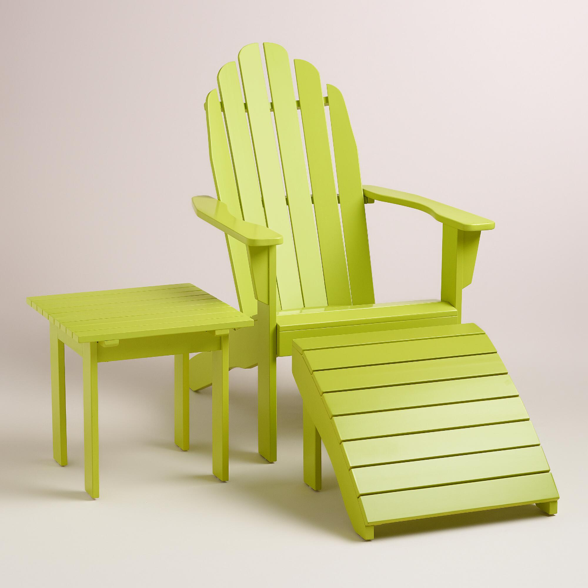 Apple Green Adirondack Collection World Market