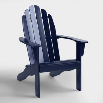Pea Coat Adirondack Chair