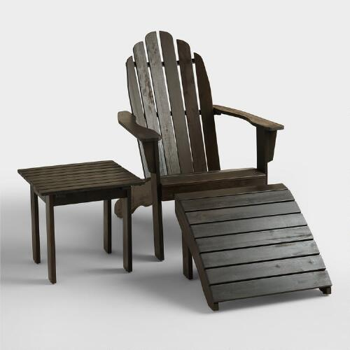 Espresso Adirondack Collection