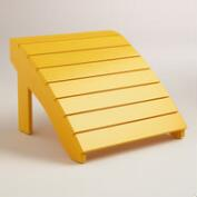 Golden Rod Adirondack Stool
