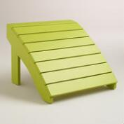 Apple Green Adirondack Stool