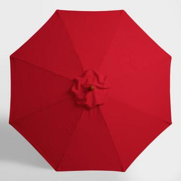 Barbados Cherry 9 ft Umbrella Canopy
