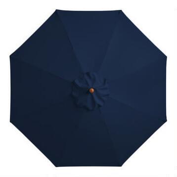 Pea Coat 9 ft Umbrella Canopy