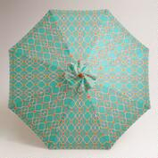 Ethel Tile 9' Umbrella Canopy