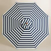 Cafe Stripe 9 ft Umbrella Canopy
