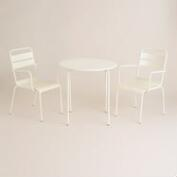 Antique White Ronan Outdoor Bistro Collection