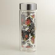 Laurent Floral Glass Tea Carafe