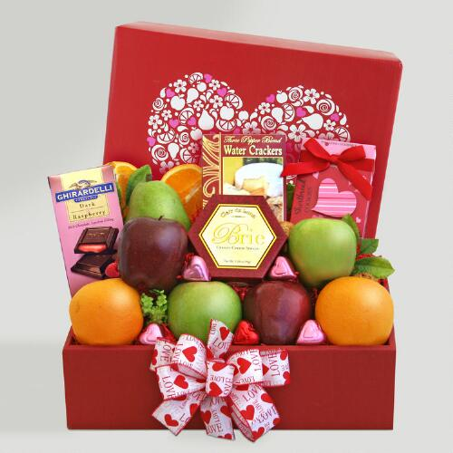 "Deluxe ""Fruitfully Yours"" Valentine Gift Box"