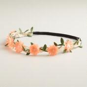 Rose Jute Braided Headband
