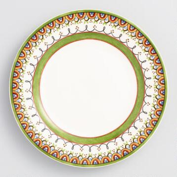 Passaro Dinner Plates, Set of  4
