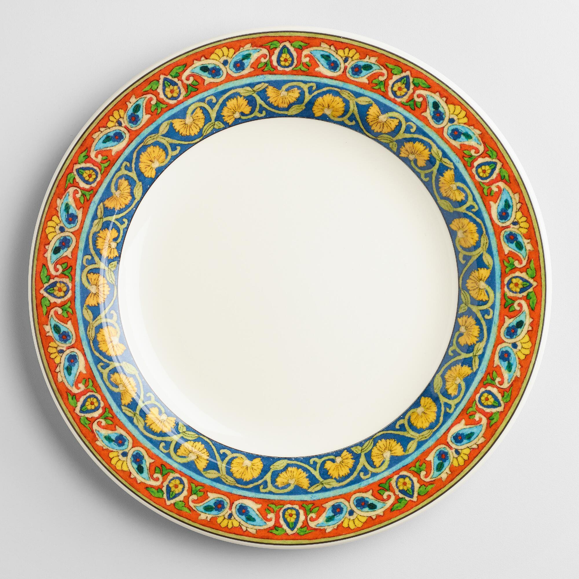 Voyage paige dinner plates set of world market