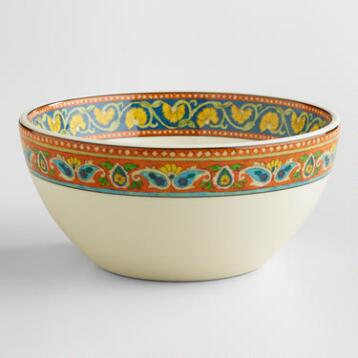 Voyage Peacock Bowls, Set of 4