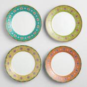 Shanghai Salad Plates Set of 4