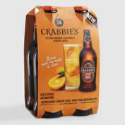 Crabbie's Spiced Orange Ginger Beer, 4-Pack