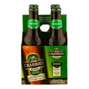 Crabbie's Original Ginger Beer, 4-Pack