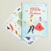 1950s Fashion Sticker Book