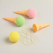 Ice Cream Cone Poppers, Set of 3