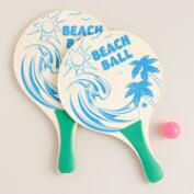Beach Paddleball Sets, Set of 2