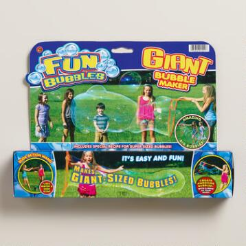 Giant Bubble Makers, Set of 3