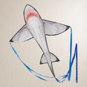 Nylon Great White Shark Kite