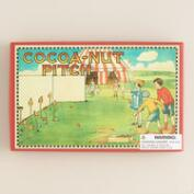 Vintage-Style Coconut Pitch Game
