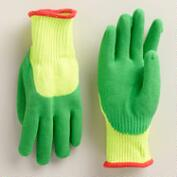 Kids' Froggy Grrrripit Gardening Gloves