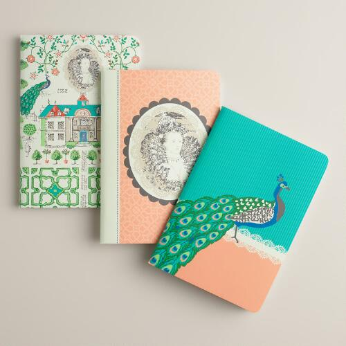 Queen Mum Journals, Set of 3