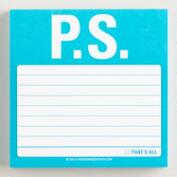 P.S. Sticky Notepad