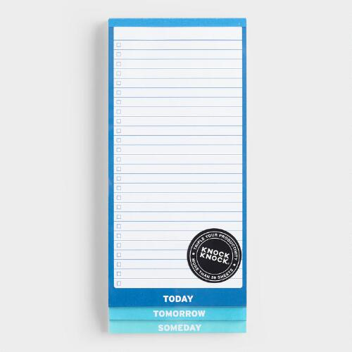 Someday 3-Way Notepad
