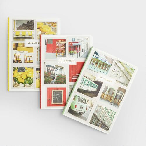 Paris in Color Notebooks, Set of 3