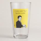Someecards Four FiguresPint Glasses, Set of 4
