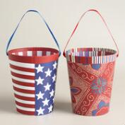 Americana Block Party Containers, Set of 2