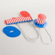 USA Party Hats, Set of 4