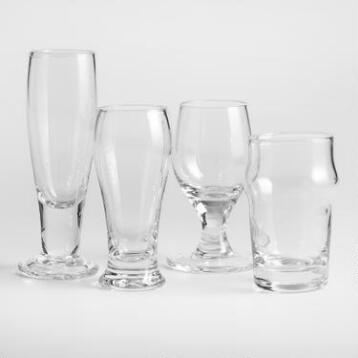 Craft Beer Shot Glasses, Set of 4