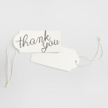 Boxed Coaster Tags, Set of 10