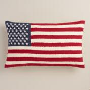 Stars and Stripes Lumbar Pillow